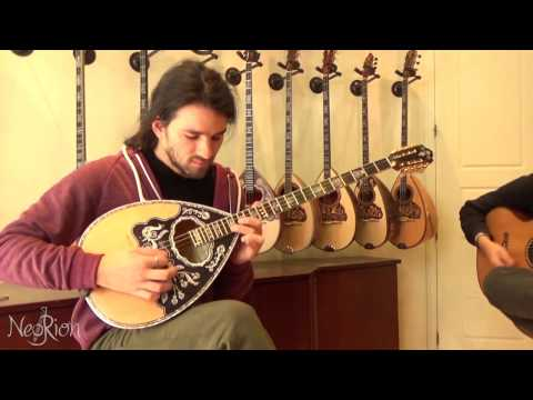 Brand New 2016 Chris Spourdalakis 4-string Greek Bouzouki- Pernabuco Natural