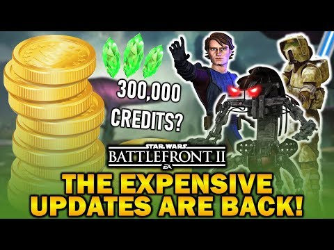 The Expensive Updates Are Back! Star Wars Battlefront 2