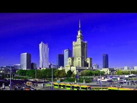 Польша Варшава 2016 обзор города. Warsaw
