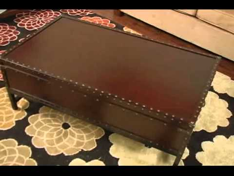 Video for Voyager Espresso Storage End Table