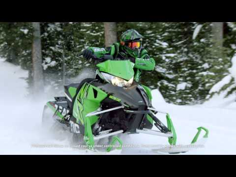"2016 Arctic Cat ZR 7000 137"" Sno Pro ES in Roscoe, Illinois - Video 2"