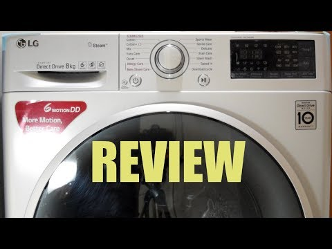 LG Front Load Washing Machine FHT1208SWL – Review