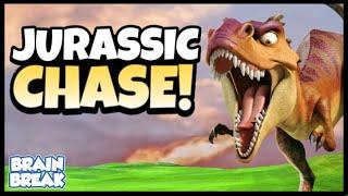 Jurassic Chase - Dinosaur PE Game