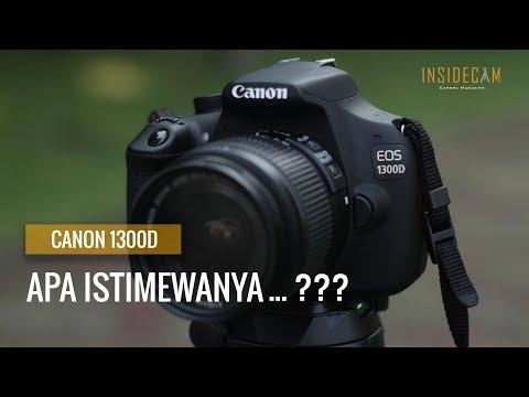 Hands-On Kamera DSLR Canon 1300D