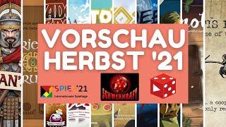 Spiel 2021 Essen • Schwerkraft Verlag • Vorschau / 2. Halbjahr 2021 - Brettspiel Neuheiten