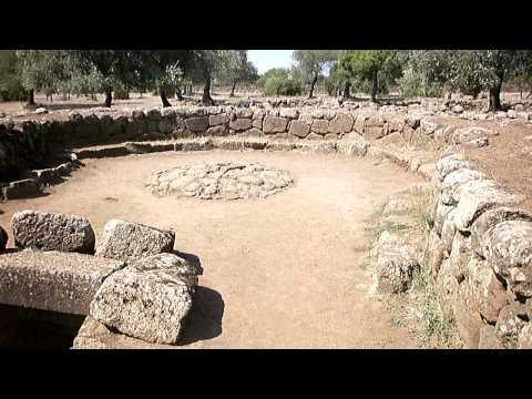 In giro per la Sardegna - Pozzo di santa Cristina, Paulilatino