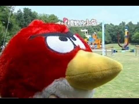 Watch The 'Real' Angry Birds Fly At This Chinese Theme Park