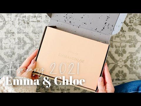 Emma & Chloe Unboxing February 2021