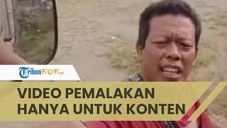Viral Video Pemalakan terhadap Sopir Truk di Kayu Aro, Ternyata Hanya Main-main dan untuk Konten