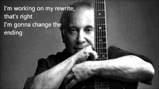 REWRITE - Paul Simon - Lyrics On Screen
