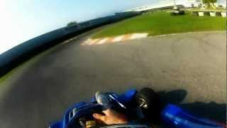 preview picture of video 'GoPro HD Hero2: GoKart 125 2t a Curno'