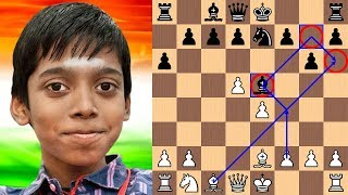 Praggnanandhaa becomes the 2nd Youngest Chess Grandmaster in History