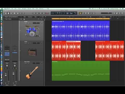 Logic Pro X – Video Tutorial 10 – Audio Edit Tools (part 1)
