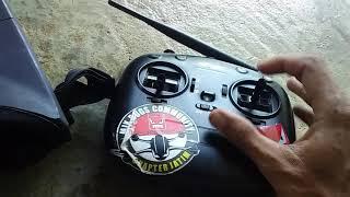 Test Micro drone fpv Di Angin kencang