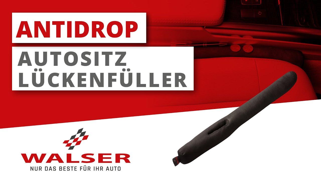 Vorschau: Autositz Lückenfüller AntiDrop - 2 Stück - Schließt die Lücke zwischen Sitz und Mittelkonsole
