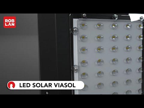 Luminaria vial LED solar VIASOL