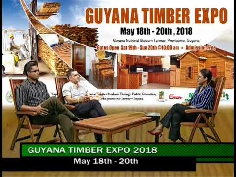 Guyana Timber Exposition (GTE) 2018 May 18 - 20