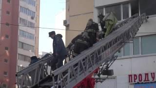Спасение 2х детей из пожара. Владивосток. 1.11.2015