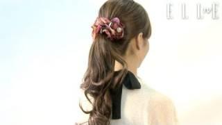 【ELLE TV JAPAN】Japanese Lady Office HairStyle Tutorial 1 Minute