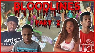 HE SPLIT HIS DINGALING!! - Family Beatdown Bloodlines Pt.2 I Dance Central 2 Xbox360 Gameplay