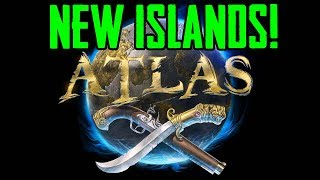 ATLAS: \\ THIS ISLAND IS INSANE! \\ NEW SURVIVAL MMO