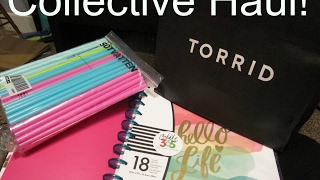 Collective Haul! Torrid, Ikea, & Michaels! Clothes, Home Decor, Planner, & More!