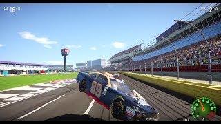 NASCAR Heat 2 Major Wreck at Charlotte