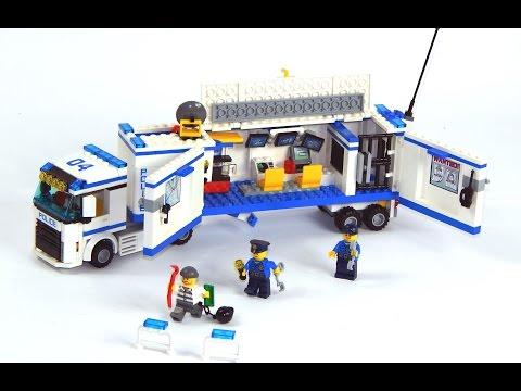 ЛЕГО ПОЛИЦИЯ 60044 .Полицейский Грузовик .Лего Машины .Mobile Police Unit 60044 .