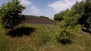 First FPV fly with GoPro 2014 _ Первый полет FPV с GoPro 2014