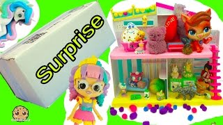 Handmade Toy Surprise Blind Bags Party At Shoppies Doll Rainbow Kate's Happy Places House