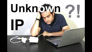 Finding an Unknown Static IP Address !!