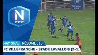 J15 : FC Villefranche B. - Stade Lavallois (2-1), Le Résumé I National FFF 2018-2019