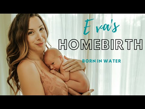 Powerful healing homebirth waterbirth with a posterior positioned baby!