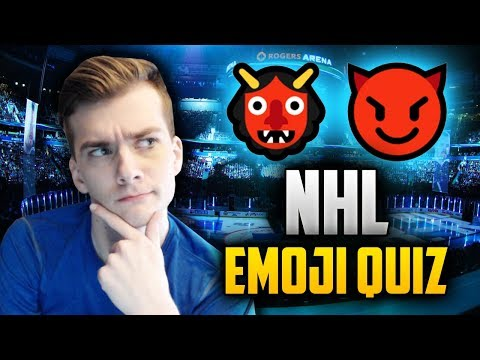 NHL Emoji Quiz! Can I Match the Emoji to the Correct Team?