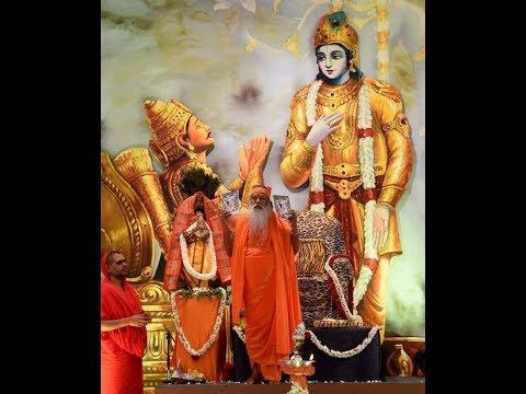 Bhagavad gita in Kannada 1 - Dhyana Sloka with lyrics