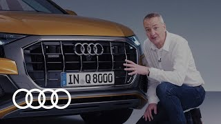 YouTube Video 3VDXb4kEgT8 for Product Audi Q8, SQ8, RS Q8 Crossover SUV by Company Audi in Industry Cars