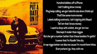 Yo Gotti feat. Lil Baby - Put a Date on It [LYRICS]
