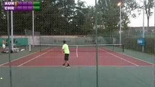 preview picture of video 'Christophe (15) vs Aurélien (4/6) - 5e tour Mesnil St Denis - Extrait - 19/09/2012'