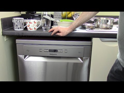 Hotpoint HFO3T222WGX Stainless Steel Dishwasher Review