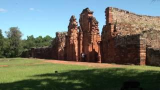 preview picture of video 'Ruinas Jesuiticas San Ignacio Mini - Misiones'