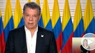 La paz es irreversible: presidente Santos
