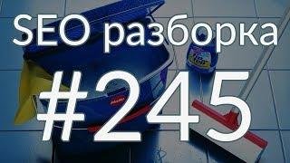 SEO разборка #245 | Клининговая компания СПб | Анатомия SEO