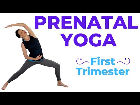 Pregnancy Yoga For First Trimester (safe for all trimesters)
