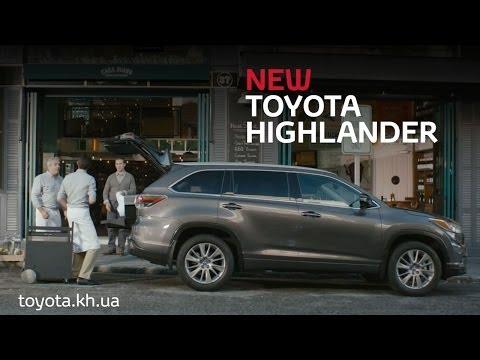 Toyota  Highlander Паркетник класса J - рекламное видео 1
