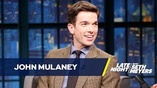John Mulaney Bumped Seth Meyers for Steve Martin