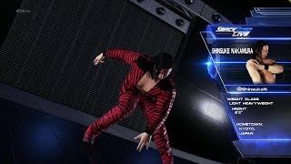 WWE2K18中邑真輔SHINSUKENAKAMURA入場シーン