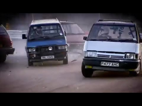 Historic People Carrier Racing – Top Gear – BBC