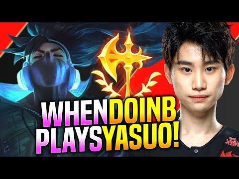 DoinB is Ready to Play Yasuo! - FPX DoinB Plays Yasuo vs Lissandra Mid! | Preseason 10 Patch 9.23