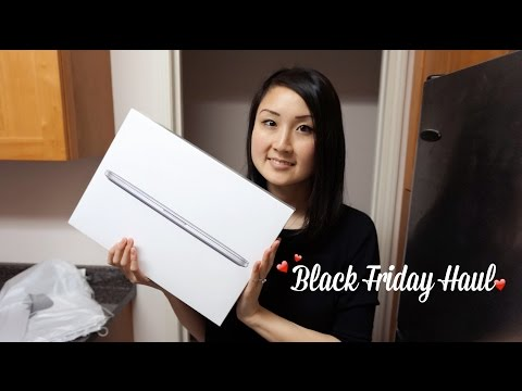 Black Friday | Haul (ft. Apple, Express)