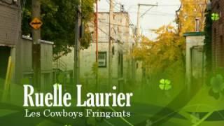 "Video thumbnail of ""Les Cowboys Fringants Ruelle Laurier Lyrics"""